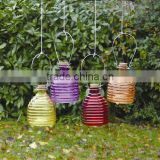 various color colored glass bee catcher