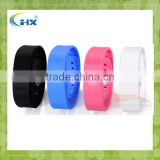 Fashion Vibrating bluetooth bracelet with LED Time for woman show Call ID-Nice