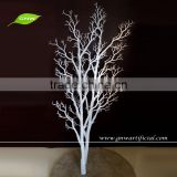 GNW WTR017 Artificial Decorative Dry Branch no leaf White color for window centerpieces 5ft high