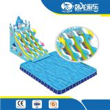 Water Games Inflatable Pool Slide On Water