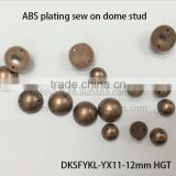 Sew On ABS Dome Studs