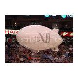 Helium Inflatable Advertising Balloons 3m White Inflatable Outdoor RC Blimp