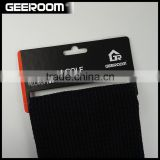 custom wholesale logo sublimated pocket microfiber waffle/microfiber weave golf towels with grommet and hooks