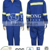 en20471 manufacture wholesale fire resistant coverall with reflective tape for road safety