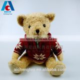 2017 best made sweater teddy bear plush toys for holiday gifts