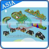 Adult Inflatable Obstacle Course / Kids Obstacle Course Equipment