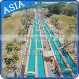 Slip n slide inflatable slide the city, inflatable city slide, largest inflatable water slide
