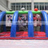 Idea inflatable hot hoops basketball game for sale, popular outdoor inflatable game NS011