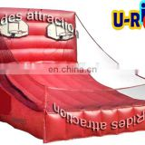 Red Giant Inflatable Basketball Hoop