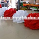 2016 hot sale inflatable rose flower chain/Inflatable wedding stage rose flower/indian wedding stages inflatable rose chain