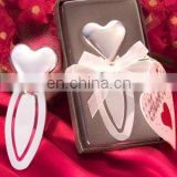 Chrome Heart-Shaped Bookmark in Deluxe Box