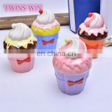 Hot sale in Japan bulk promotional gift for kids creative Cute ice cream smart money box for girls ceramic piggy bank