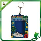 photo frame rubber keyring