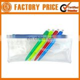 Most Popular School Pencil Bag Funny Plastic Pencil Case