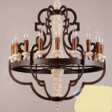 LED Chandelier Pendant Light & wood pendant lamp used for home4002