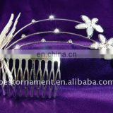 Wedding Sparkling Crystal Rhinestone Hair Comb