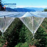Agriculture white woven anti hail protection mesh cover net roll for apple tree manufacturer in china