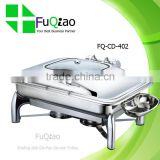 Luxury Stainless Steel Electric Chafing Dish for Buffet with Glass Lid                                                                         Quality Choice