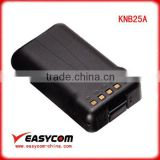 Intercom battery for TK2140/3140/3130/TK2160 KNB25A for Kenwood walkie talkie rechargeable nicd battery pack