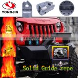 Hot sale aluminum roller fairlead super solid guide rope for offroad vehicals jeep wrangler trucks ATV UTV