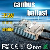 China lamp type super car headlight hid xenon electronic canbus ballast transformer for 35 Watt grow light 35w 12v bulbs