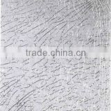 3-12mm ice-cracked tempered glass