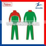 Sublimated Custom Green Color Team Training Tracksuit