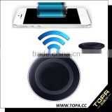 ultra slim qi wireless charger universal wireless phone charger for motel and hotel