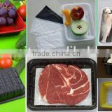 Advanced Craft With Absorbent Pad Disposable Plastic Frozen Meat Packing Box