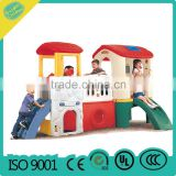 2016 New Plastic slide small playground kids outdoor playground indoor playground MBL15-16701