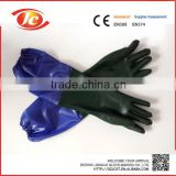 PVC industrial good reputation disposable gloves long sleeve