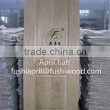 Natural ash HDF molded door skin