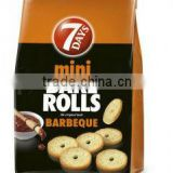 BAKE ROLLS 7 DAYS MINI BARBEQUE 80g