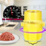 High Quality Plastic Body Stainless Steel Blade Chopper Meat Grinder                                                                         Quality Choice