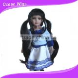 hot selling synthetic hair doll wig