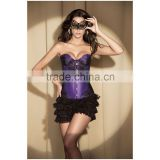 Women Fancy Mini Tutu Skirt Corset Costume Sexy Corsets And Bustiers Burlesque Dress