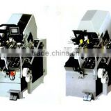 Automatic shoe toe lasting machine