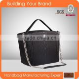 3349 Newest Style Good Workmanship Handle Tote Bag Real Snake Women Leather Bags Handbag Factory