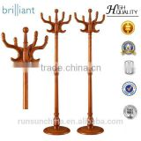 Y-48 coat rack stand/ commercial coat rack/ clothes rack/ coat hangers / Oak coat hangers