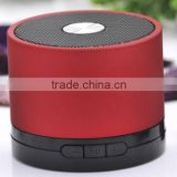 Red built-in FM radio wireless mini bluetooth speaker for iPhone/iPad 64GB SD/TF card support