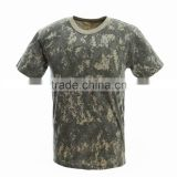 Base layers adult T-shirts short sleeve t-shirt in all terrain digital color for duty and casual wear