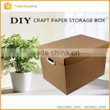 Wholesale eco-friendlly cardboard box with lid from cardboard box supplier