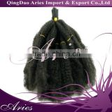 ELYSEE STAR AFRO KINKY BULK LOOSE SYNTHETIC HAIR OFF BLACK TWIST