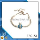 crab bracelet 2014 indian fashion jewelry wholesale wedding large zircon bracelet zircon bead bracelet