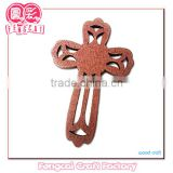 Religious Keychain and wooden necklace cross pendant ( wood Art/crafts in laser-cut & engraving)