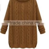 2014 Winter newest women's Cable- Knit Sweater