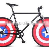 Cool 700C 40mm rims Fixed gear sport bike /bicycle