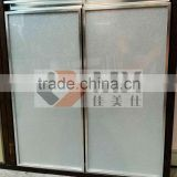 high quality low price extruded aluminium profile kitchen cabinet door frame/door edge/cupboard door profile