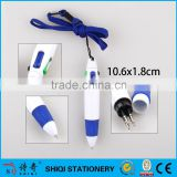 promotional 4 in 1 multi-color click ball pen with string                                                                                                         Supplier's Choice