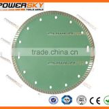 China turbo diamond cutter circular saw blade for marble
